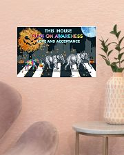 Autism Love And Acceptance 17x11 Poster poster-landscape-17x11-lifestyle-22