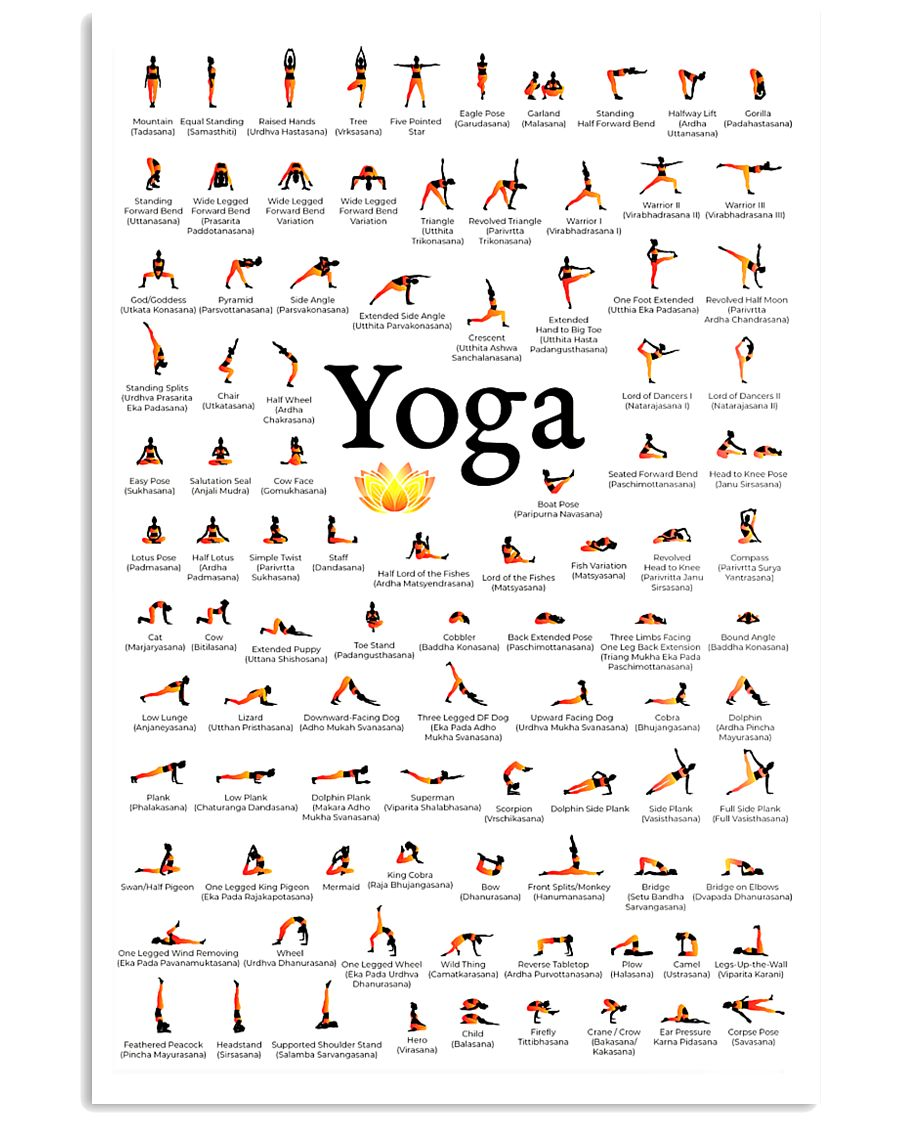 Yoga - Exercise 11x17 Poster