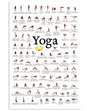 Yoga - Exercise 11x17 Poster front