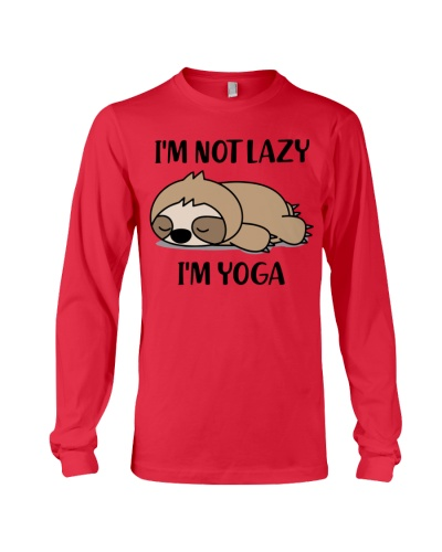 Yoga - I'm not lazy
