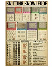 Knitting Knowledge 11x17 Poster front