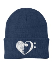 Bass Guitar Heart Clef Knit Beanie thumbnail