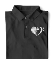 Bass Guitar Heart Clef Classic Polo thumbnail