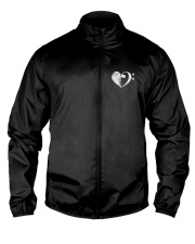 Bass Guitar Heart Clef Lightweight Jacket thumbnail