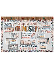 Teacher What Is Your Mindset 17x11 Poster front