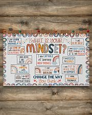 Teacher What Is Your Mindset 17x11 Poster poster-landscape-17x11-lifestyle-14