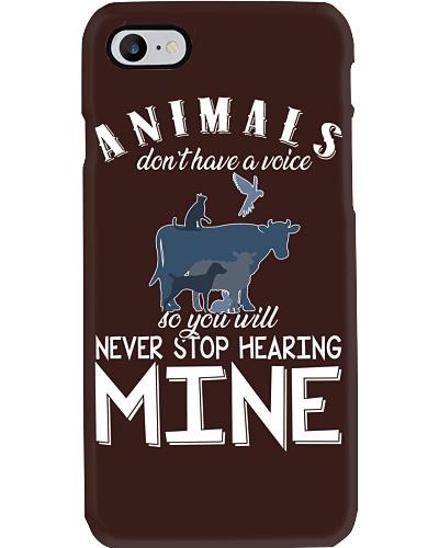 Vegan You'll never stop hearing mine