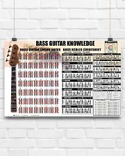 Bass Guitar Knowledge Chords Notes 17x11 Poster poster-landscape-17x11-lifestyle-17