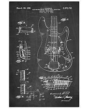 Bass Guitar Detail  16x24 Poster front