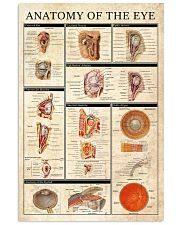 Optometrist Anatomy Of The Eye 11x17 Poster front