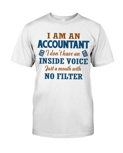 Accountant - A mouth with no filter