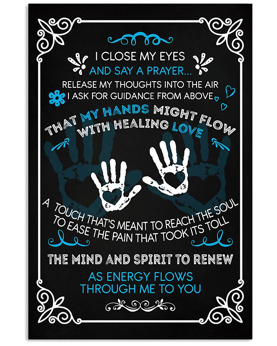 Massage Therapist  Say a Prayer 11x17 Poster