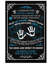 Massage Therapist  Say a Prayer 11x17 Poster front