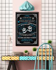 Massage Therapist  Say a Prayer 11x17 Poster lifestyle-poster-6