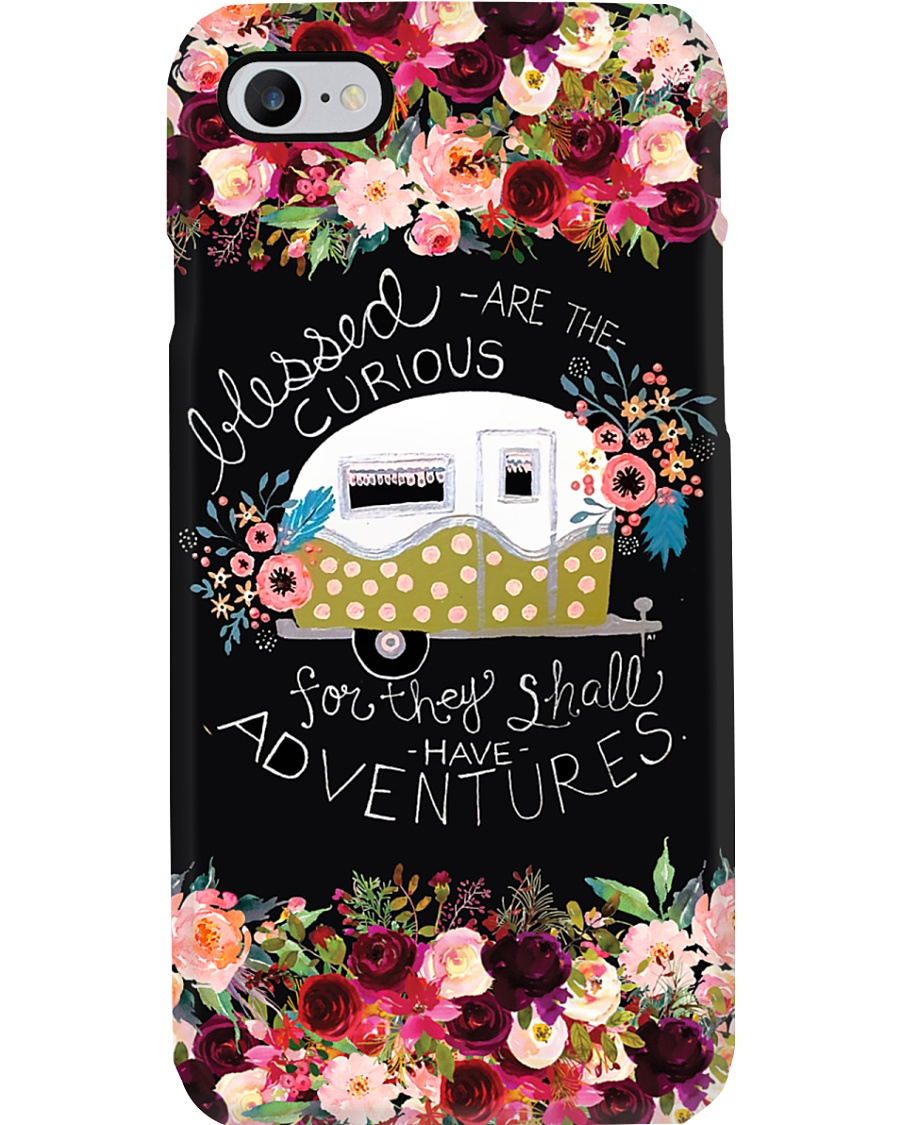 Camping Blessed Are The Curious Phone Case