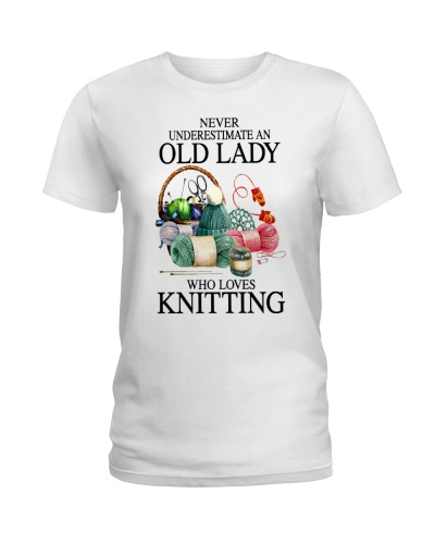 Never underestimate an old lady who loves Knitting