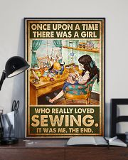 Girl Loved Sewing 11x17 Poster lifestyle-poster-2