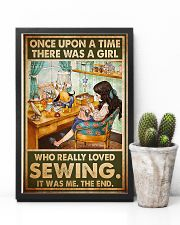 Girl Loved Sewing 11x17 Poster lifestyle-poster-8