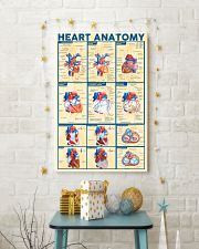Paramedic Heart Anatomy 11x17 Poster lifestyle-holiday-poster-3