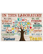 Scientist We are a Team  17x11 Poster front