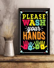 Wash Your Hands Teacher  11x17 Poster lifestyle-poster-3