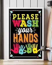 Wash Your Hands Teacher  11x17 Poster lifestyle-poster-4