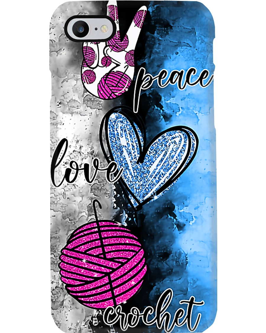 Crochet - Peace And Love Phone Case
