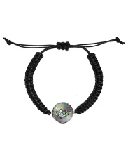 Autism Awareness Mother son Best friends for life Cord Circle Bracelet thumbnail