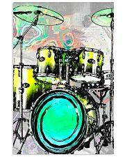 Drummer Green Drum Set 11x17 Poster front