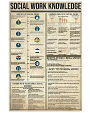 Social Work Knowledge 11x17 Poster front
