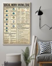 Social Work Knowledge 11x17 Poster lifestyle-poster-1