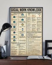 Social Work Knowledge 11x17 Poster lifestyle-poster-2