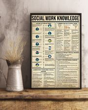Social Work Knowledge 11x17 Poster lifestyle-poster-3