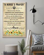 A Nurse's Prayer 11x17 Poster lifestyle-poster-1