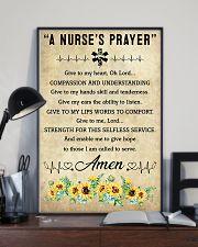 A Nurse's Prayer 11x17 Poster lifestyle-poster-2