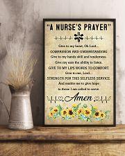 A Nurse's Prayer 11x17 Poster lifestyle-poster-3