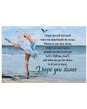 Ballet  I Hope You Dance 17x11 Poster front