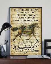 Horse Girl - What a wonderful world 11x17 Poster lifestyle-poster-2