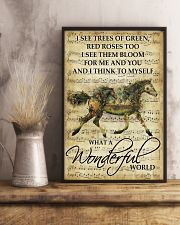 Horse Girl - What a wonderful world 11x17 Poster lifestyle-poster-3