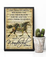 Horse Girl - What a wonderful world 11x17 Poster lifestyle-poster-8