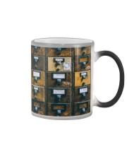 Librarian Cards Color Changing Mug thumbnail