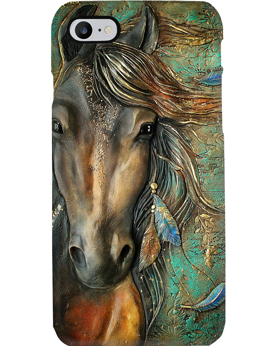 Horse Girl Horse Beauty Phone Case