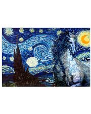 Horse Art 17x11 Poster front