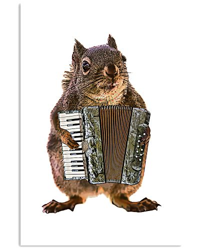 Accordionists Cute poster