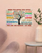 Social Worker When You Enter This Office 17x11 Poster poster-landscape-17x11-lifestyle-22