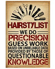 Hairstylist We Do Precision 11x17 Poster front