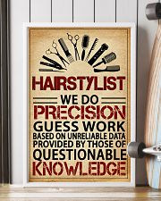 Hairstylist We Do Precision 11x17 Poster lifestyle-poster-4