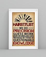Hairstylist We Do Precision 11x17 Poster lifestyle-poster-5