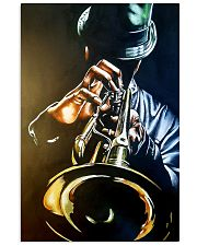 Trumpet Man Art Painting 11x17 Poster front