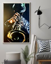 Trumpet Man Art Painting 11x17 Poster lifestyle-poster-1